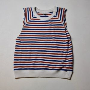 Aerie Striped Muscle Tank Shirt